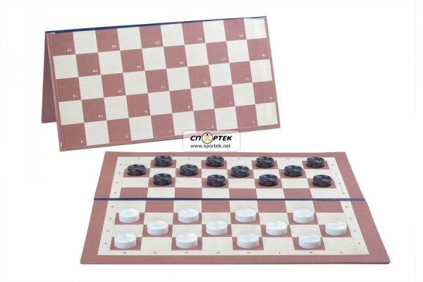 Дошка картонна для шашок / шахів NEW