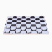 Дошка картонна для шашок / шахів