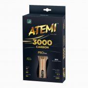 Ракетка для настольного тенниса  ATEMI 3000 Carbon ECO-Line