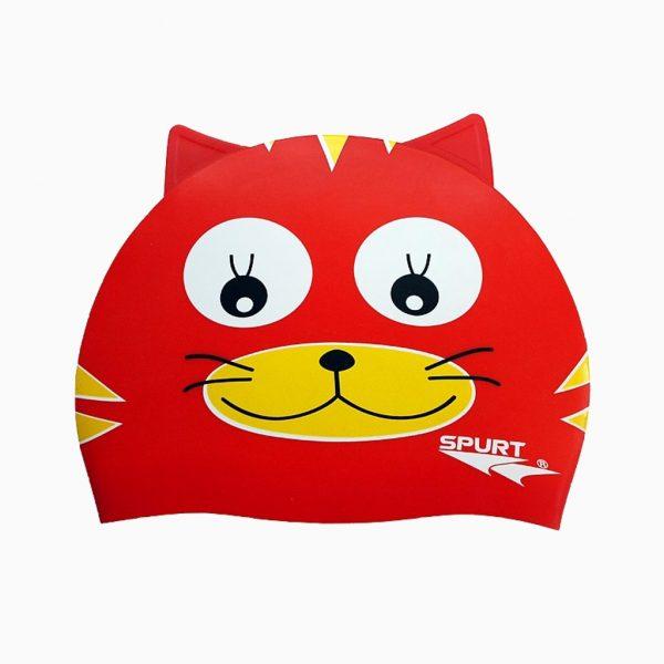 Шапочка для плавання Spurt силікон RED CAT
