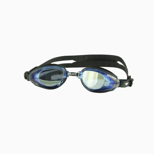 Окуляри для плавання Spurt KOR 60 AF mirror чорно-золотий