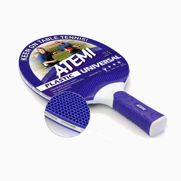 Ракетка для настільного тенісу ATEMI Plastic Universal