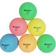 Мячики настольного тенниса Donic-Schildkrot COLOR 6шт