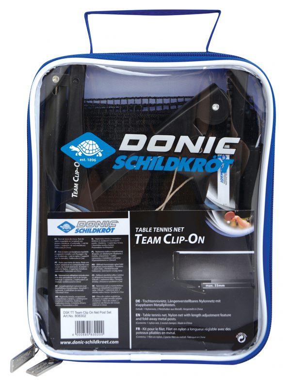 Сітка настільного тенісу Donic-Schildkrot TEAM CLIP ON