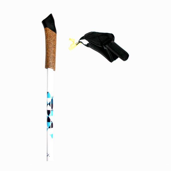 Палки для скандинавської ходьби RE:FLEX  NW 203 білі