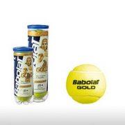 М'ячі для тенісу Babolat BALLS GOLD PET x 4