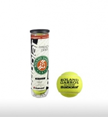 М'ячі для тенісу Babolat FRENCH OPEN ALL COURT x 4