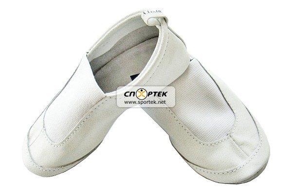 Чешки кожаные М-10 белые