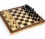 Шахи Піонер 19х39 (3 в 1) деревяні