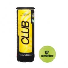 М'ячі для тенісу TECHIFIBRE Club 3 ball