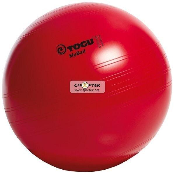 М'яч для фітнесу TOGU MyBall 65 см червоний