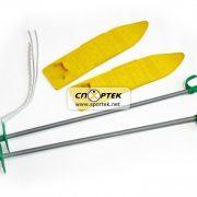 Набір лижний дитячий 40 см (лижі з палицями)
