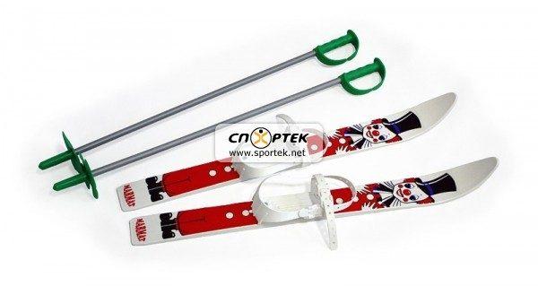 Набір лижний дитячий 70 см (лижі з палицями)