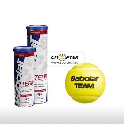 М'ячі для тенісу Babolat BALLS TEAM x 4