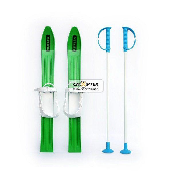 Набір лижний дитячий RE:FLEX 60 см (лижі з палицями)