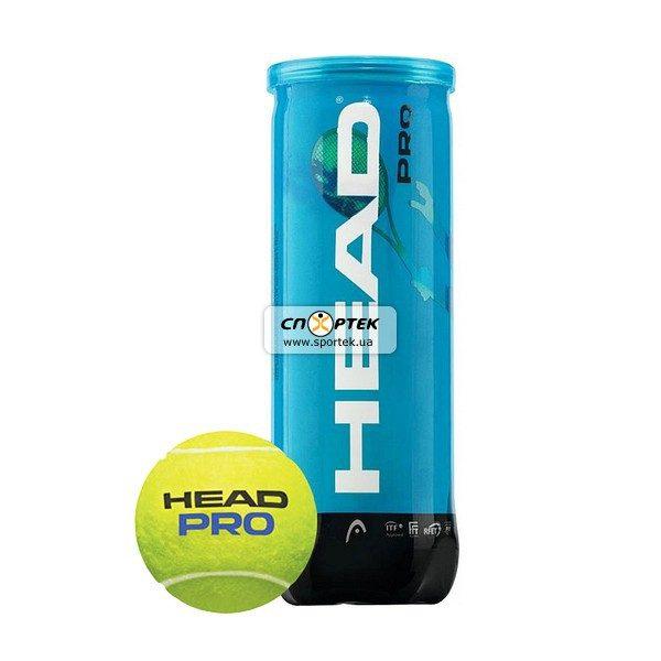 М'ячі для тенісу HEAD PRO 3B
