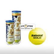 М'ячі для тенісу Babolat BALLS GOLD PET x 3