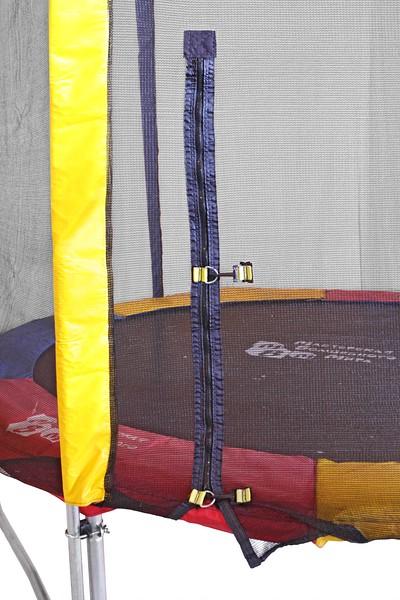 Батут KIDIGO 244 см з захисною сіткою