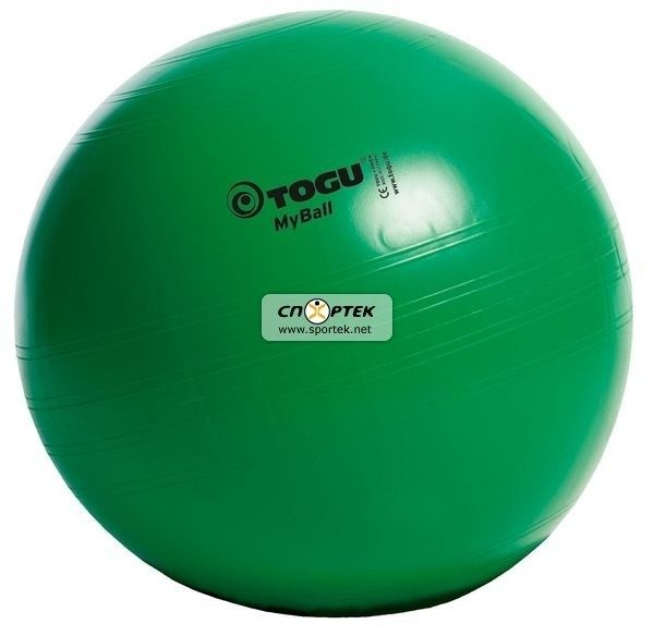 М'яч для фітнесу TOGU MyBall 65 см зелений